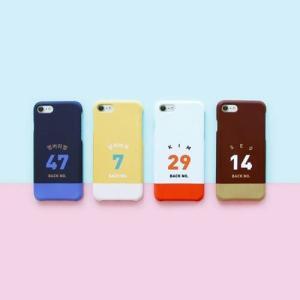 [韓国雑貨]背番号とお名前 スポーティーなオーダーメイドのスマホケース《iPhone/Galaxy》[名入れ][名前][文房具]|seoul4|03