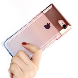 [韓国雑貨]メタル×クリア iPhone7クリスタルカバー[iphoneケース]|seoul4