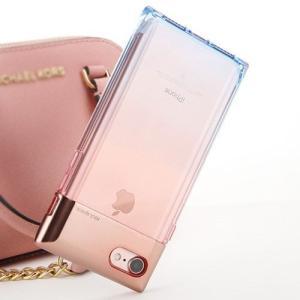 [韓国雑貨]メタル×クリア iPhone7クリスタルカバー[iphoneケース]|seoul4|02