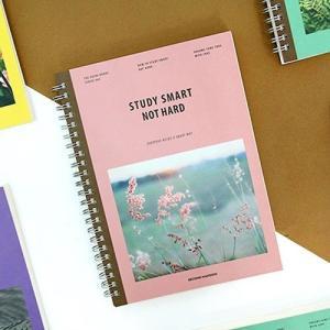 [韓国雑貨]スマートにお勉強のお手伝い NOTE HARD STUDY SMART[スタディプランナー][スケジュール帳][手帳][可愛い][かわいい][韓国文房具]|seoul4