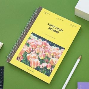 [韓国雑貨]スマートにお勉強のお手伝い NOTE HARD STUDY SMART[スタディープランナー][スケジュール帳][手帳][可愛い][かわいい][文房具][文具] seoul4 02