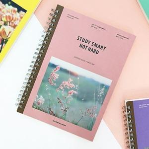 [韓国雑貨]スマートにお勉強のお手伝い NOTE HARD STUDY SMART[スタディープランナー][スケジュール帳][手帳][可愛い][かわいい][文房具][文具] seoul4 05