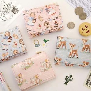 [韓国雑貨]=paper doll mate= 乙女なアナタの小さなお財布 Mini wallet《ver.2》[韓国文房具][可愛い][かわいい][韓国 お土産]|seoul4