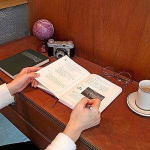 [韓国雑貨]=indigo= ハングル勉強にもピッタリ 本当に私を発見する100の質問ダイアリー≪自問自答ダイアリー≫  [かわいい]|seoul4|06