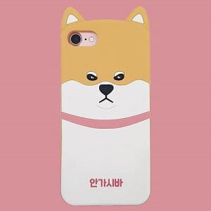 [韓国雑貨]ご立腹な表情も愛くるしい 柴犬ワンコのiPhoneケース[アイフォン][ハングル][iphoneケース]|seoul4
