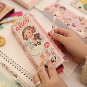 [韓国雑貨]=paper doll mate= 乙女なアナタの PAPER BOX《2タイプSET》[韓国 お土産][可愛い][かわいい][文房具][文具]|seoul4