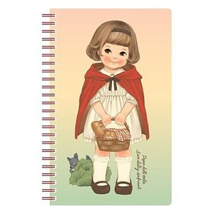 [韓国雑貨]=paper doll mate= 乙女なアナタの spring note ver.3《選べる3タイプ》[韓国 お土産][可愛い][かわいい][文房具][文具]|seoul4