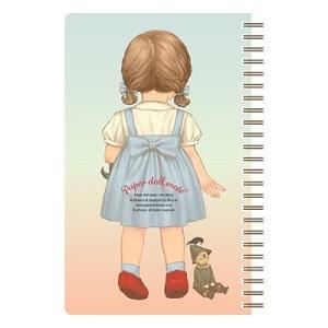 [韓国雑貨]=paper doll mate= 乙女なアナタの spring note ver.3《選べる3タイプ》[韓国 お土産][可愛い][かわいい][文房具][文具]|seoul4|04