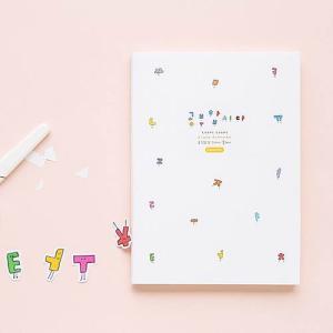 [韓国雑貨]落書きのような可愛さ todac todac study planner[スタディープランナー][文房具][文具]|seoul4