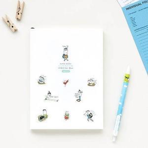 [韓国雑貨]落書きのような可愛さ todac todac study planner[スタディプランナー][スタディープランナー][韓国文房具][可愛い][かわいい]|seoul4|04