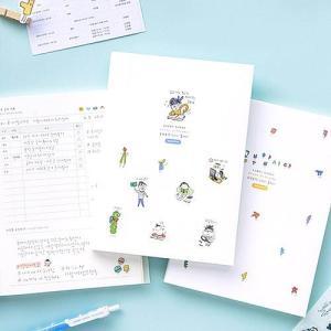 [韓国雑貨]落書きのような可愛さ todac todac study planner[スタディプランナー][スタディープランナー][韓国文房具][可愛い][かわいい]|seoul4|05