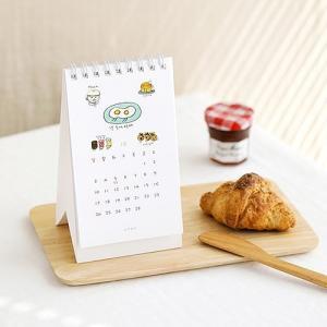 [韓国雑貨]落書きのような可愛さ todac todac 卓上カレンダー《2019年韓国暦》[ダイアリー][文房具][文具]|seoul4