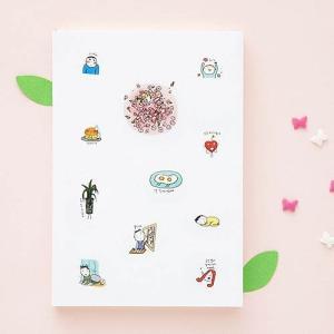 [韓国雑貨]落書きのような可愛さ todac todac weekly Diary《2019年韓国暦》[ダイアリー][韓国文房具][可愛い][かわいい]|seoul4