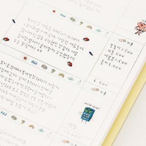 [韓国雑貨]落書きのような可愛さ todac todac weekly Diary《2019年韓国暦》[ダイアリー][韓国文房具][可愛い][かわいい]|seoul4|05