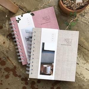 [韓国雑貨]=indigo= 写真とハングルポエムの日記帳 詩人気分なフォトダイアリー(万年型)[ダイアリー][可愛い][かわいい][韓国 お土産][韓国語]|seoul4