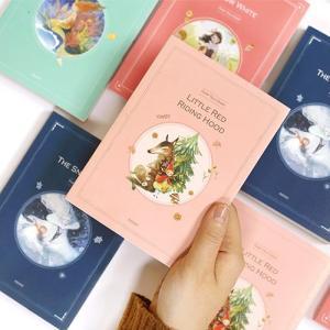 [韓国雑貨]大人のための童話から飛び出した 絵本のようなダイアリー〈万年型〉[可愛い][かわいい][韓国 お土産]|seoul4