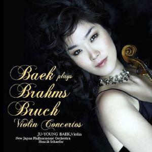 ベク・ジュヨン / BAEK PLAYS BRAHMS & BRUCH VIOLIN CONCERTOS [クラシック][韓国 CD]|seoul4