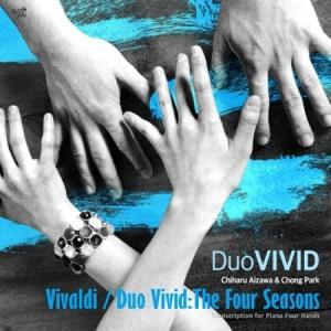 DUO VIVID / VIVALDI - THE FOUR SEASONS (TRANSCRIPTION FOR PIANO FOUR HANDS) [クラシック][韓国 CD]|seoul4