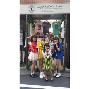 青SHUN学園×セフィロティック・ツリーコラボTシャツ|sephirothictree|04