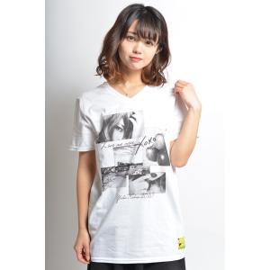 【完売】幸野ゆりあコラボ YK2OXO VネックTシャツ|sephirothictree