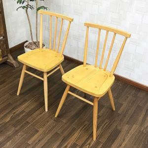 カントリー調カフェチェア 2脚セット ダイニングチェア  椅子 ナチュラル ダイニング カフェ風 カントリー調 おしゃれ 木製  新品 アウトレット 送料無料|sepiya