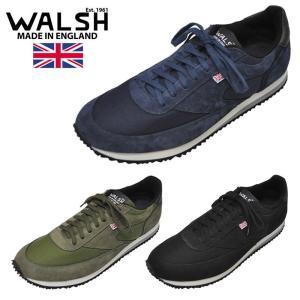 【3 COLOR】WALSH(ウォルシュ)【MADE IN ENGLAND】 LA84 SNEAKER(イギリス製 スニーカー) SUEDE / NYLON septis