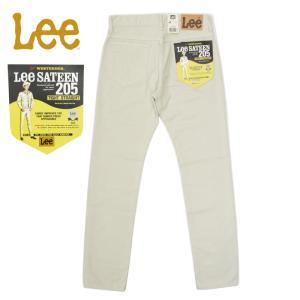 Lee(リー) 205 TIGHT STRAIGHT WESTERNER PANTS(205 タイトストレート ウエスターナーパンツ) COTTON SATEEN(コットンサテン) SAND|septis