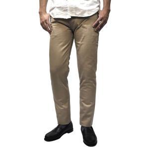 EMPIRE&SONS(エンパイア&サンズ) 【MADE IN U.S.A】SLIM TAPERED COTTON SATEEN PANTS(アメリカ製 スリムテーパードコットンサテンパンツ) KHAKI septis