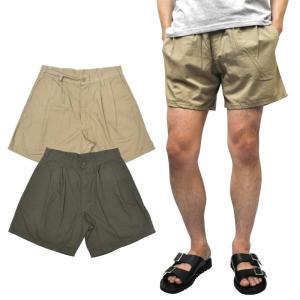 【2 COLOR】GUNGHO(ガンホー) 【MADE IN U.S.A】 2 TACK FATIGUE SHORT PANTS(ツータックファティーグショーツ) RIPSTOP(リップストップ)|septis