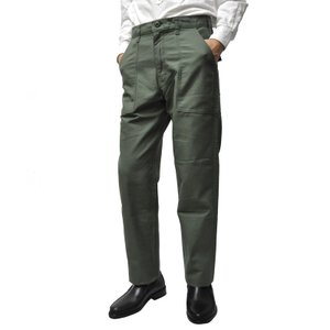 GUNGHO(ガンホー) 【MADE IN U.S.A】 4 POCKET TAPERED FATIGUE PANTS(アメリカ製 テーパード ファティーグパンツ) OLIVE|septis