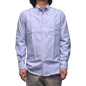 INDIVIDUALIZED SHIRTS(インディビジュアライズドシャツ) STANDARD FIT SHIRTS(長袖スタンダードフィットシャツ) REGATTA OXFORD BLUE|septis