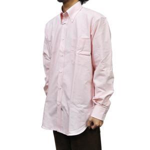 IKE BEHAR(アイク ベーハー)【MORI】クラシックフィット L/S B/D SHIRTS(長袖ボタンダウンシャツ) OXFORD(オックスフォード) PINK|septis