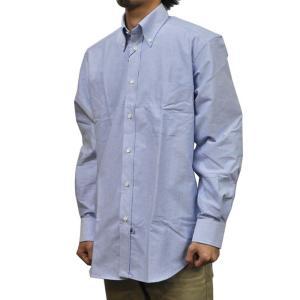IKE BEHAR(アイク ベーハー)【MORI】クラシックフィット L/S B/D SHIRTS(長袖ボタンダウンシャツ) OXFORD(オックスフォード) SAXE BLUE|septis