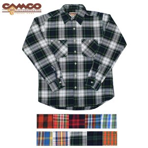 【10 COLOR】CAMCO(カムコ) HEAVY WEIGHT FLANNEL SHIRTS(ヘビーウェイトフランネルシャツ)|septis