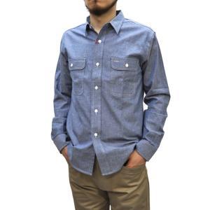 SERO(セロ) 【MADE IN U.S.A】 WORK SHIRTS(アメリカ製ワークシャツ) CHAMBRAY BLUE septis