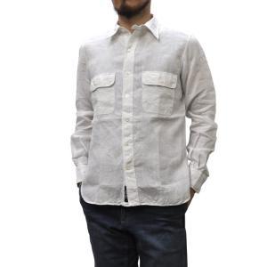 SEPTIS ORIGINAL(セプティズオリジナル) L/S WORK SHIRTS(長袖ワークシャツ) LINEN(リネン/麻) WHITE|septis