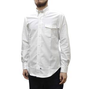 IKE BEHAR(アイク ベーハー)×SEPTIS(セプティズ) ダブルネーム L/S B/D SHIRTS(長袖ボタンダウンシャツ) OXFORD(オックスフォード) WHITE|septis