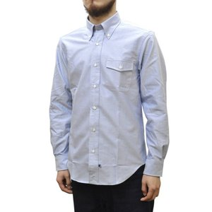 IKE BEHAR(アイク ベーハー)×SEPTIS(セプティズ) ダブルネーム L/S B/D SHIRTS(長袖ボタンダウンシャツ) OXFORD(オックスフォード) BLUE|septis