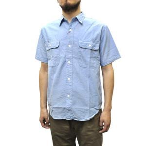 SERO(セロ) 【MADE IN JAPAN】 S/S WORK SHIRTS(日本製半袖ワークシャツ) CHAMBRAY septis