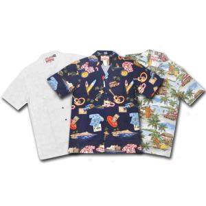 【3 COLORS】RJC(アールジェイシー)【MADE IN HAWAII】S/S OPEN COLLARED ALOHA SHIRTS(ハワイ製 オープンカラー 開襟シャツ アロハシャツ) septis