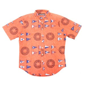 REYN SPOONER(レインスプーナー) S/S B/D F/O ALOHA SHIRTS(半袖フルオープン アロハシャツ) YACHTSMAN RED|septis