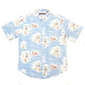 REYN SPOONER(レインスプーナー) S/S B/D F/O ALOHA SHIRTS(半袖フルオープン アロハシャツ) REEF
