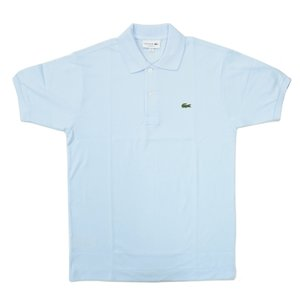 FRANCE LACOSTE(直輸入フランスラコステ) #L1212 S/S PIQUE POLOSHIRTS(半袖 鹿の子 ポロシャツ) RUISSEAU(LIGHT BLUE)(T01)|septis