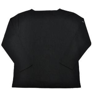 SAINT JAMES(セントジェームス) L/S BOATNECK BASQUE SHIRT(長袖ボートネックバスクシャツ) OUESSANT(ウエッソン) NOIR(BLACK)|septis