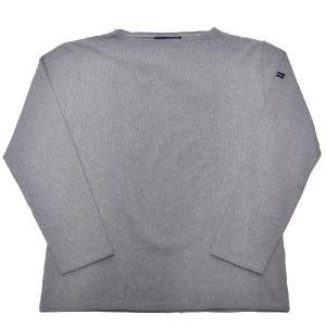 SAINT JAMES(セントジェームス) L/S BOATNECK BASQUE SHIRT(長袖ボートネックバスクシャツ) OUESSANT(ウエッソン) GRIS(GRAY)|septis