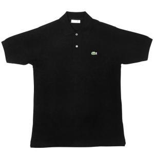 JAPAN LACOSTE(ジャパンラコステ) L1212 S/S PIQUE POLOSHIRTS(半袖 鹿の子 ポロシャツ) NOIR(BLACK)(031) septis