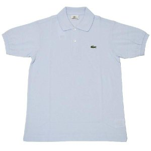 JAPAN LACOSTE(ジャパンラコステ) L1212 S/S PIQUE POLOSHIRTS(半袖 鹿の子 ポロシャツ) RUISSEAU(LIGHT BLUE)(T01) septis