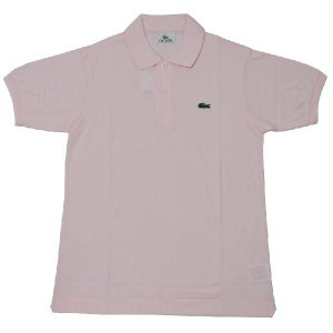 JAPAN LACOSTE(ジャパンラコステ) L1212 S/S PIQUE POLOSHIRTS(半袖 鹿の子 ポロシャツ) FLAMANT(PINK)(T03) septis
