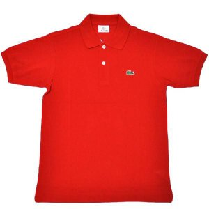JAPAN LACOSTE(ジャパンラコステ) L1212 S/S PIQUE POLOSHIRTS(半袖 鹿の子 ポロシャツ) ROUGE(RED)(240) septis