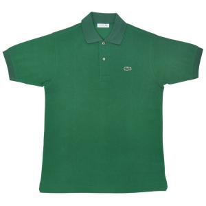 JAPAN LACOSTE(ジャパンラコステ) L1212 S/S PIQUE POLOSHIRTS(半袖 鹿の子 ポロシャツ) VERT(DARK GREEN)(132) septis